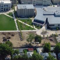 Bradley University Quad in Peoria, IL