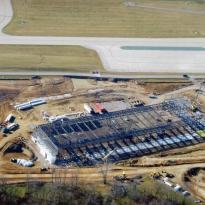 Caterpillar Hangar in Peoria, IL